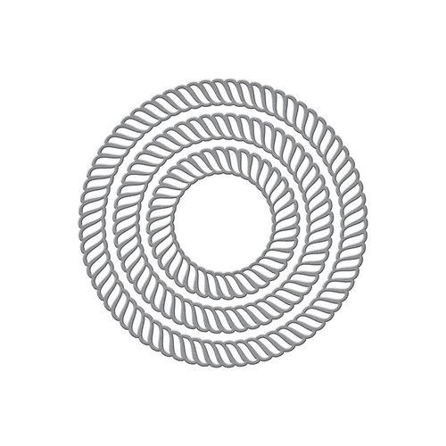 Spellbinders - Elegant Twist Collection - Etched Dies - Circles