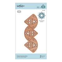 Spellbinders - Dimensional Doily Collection - Etched Dies - Pointed Harmony Doily