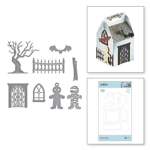 Spellbinders - Etched Dies - Spooky Cottage