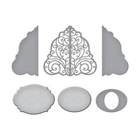 Spellbinders - Picot Petite Collection - Etched Dies - Bed of Lace