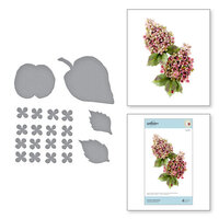 Spellbinders - Susan's Autumn Flora Collection - Etched Dies - Autumn Hydrangea