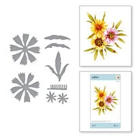 Spellbinders - Susan's Autumn Flora Collection - Etched Dies - Coreopsis
