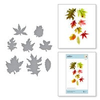 Spellbinders - Susan's Autumn Flora Collection - Etched Dies - Woodland Garden Leaves
