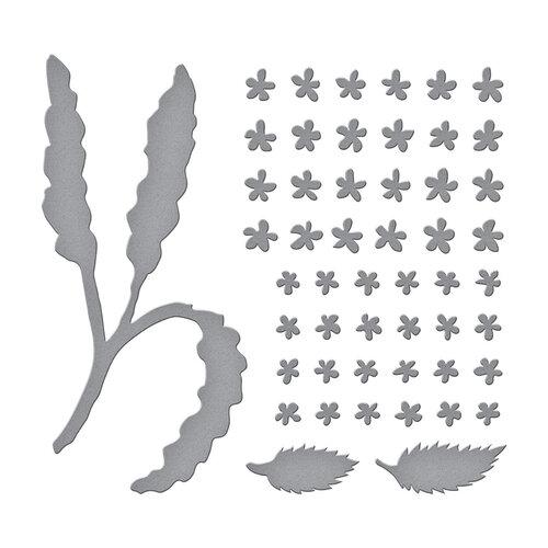 Spellbinders - Susan's Spring Flora Collection - Etched Dies - Spirea Bridal Wreath
