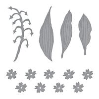 Spellbinders - Susan's Spring Flora Collection - Etched Dies - Lily of the Valley