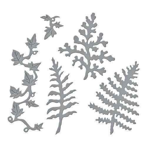 Spellbinders - Susan's Spring Flora Collection - Etched Dies - Ferns and Ivy
