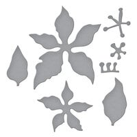 Spellbinders - Susan's Holiday Flora Collection - Christmas - Etched Dies - Poinsettia