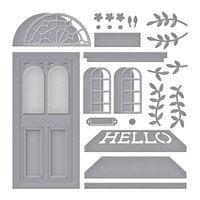 Spellbinders - SB Open House Collection - Etched Dies - Open House Door Base