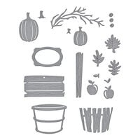 Spellbinders - Happy Harvest Collection - Dies - Welcome Fall