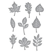Spellbinders - Fall Traditions Collection - Etched Dies - Autumn Leaves