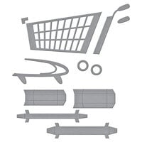 Spellbinders - Add To Cart Collection - Dies - 3D Shopping Cart