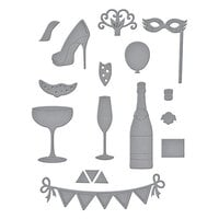 Spellbinders - Add To Cart Collection - Dies - Shopping Cart Party On!