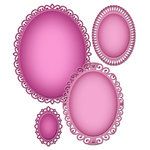 Spellbinders - Nestabilities Collection - Die - Deco Elements - Elegant Ovals