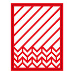 Spellbinders - Trendy Collection - Shapeabilities Die - Diagonal Chevron