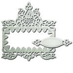 Spellbinders - Shapeabilities Collection - Die - Decorative Frames - Fleur Essence