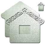 Spellbinders - Shapeabilities Collection - Die - Decorative Frames - Floral Cottage