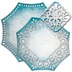 Spellbinders Decorative Element Labels Forty Six Nestabilities Die