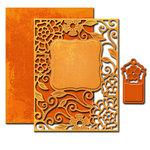 Spellbinders - Nestabilities Collection - Die - Card Creator - Tudor Rose Card Front