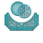 Spellbinders - Shapeabilities Collection - Die - Swirl Bliss Pocket