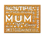 Spellbinders - Die - Card Creator - Wonderful Mum