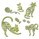 Spellbinders - Shapeabilities Collection - Die - Kitty Play