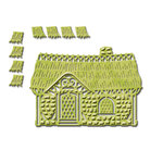 Spellbinders - Shapeabilities Collection - Die - Cozy Cottage