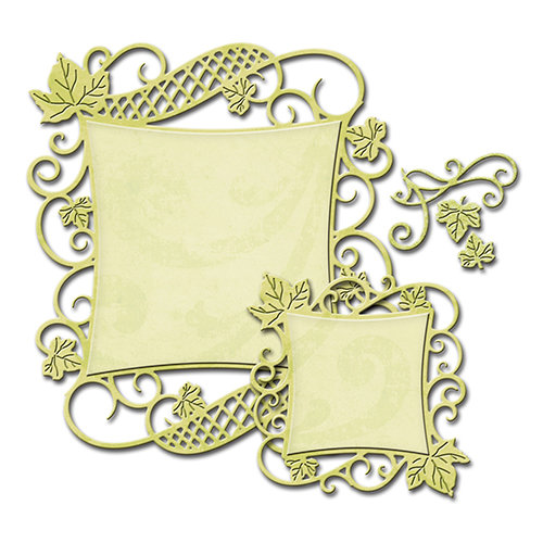Spellbinders - Nestabilities Collection - Die - Decorative Curved Square