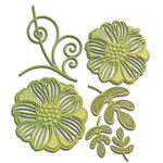Spellbinders - Shapeabilities Collection - Die - Romantic Blooms One