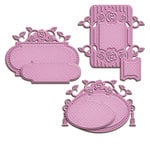 Spellbinders - Shapeabilities Collection - Die Victorian Tags Two