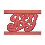 Spellbinders - Holiday Collection - Christmas - Shapeabilities Die - Joy Strip