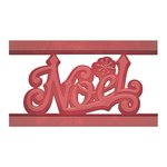 Spellbinders - Holiday Collection - Christmas - Shapeabilities Die - Noel Strip