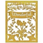 Spellbinders - Die - Card Creator - Simply Wonderful