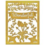 Spellbinders Simply Wonderful Card Creator Die
