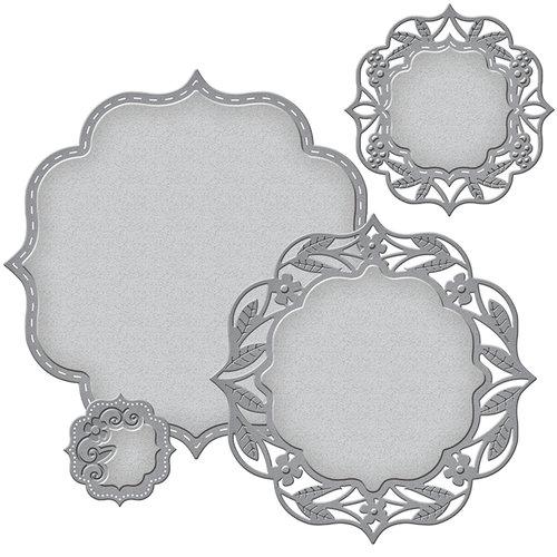 Spellbinders - Nestabilities Die - Labels 50 Decorative Elements