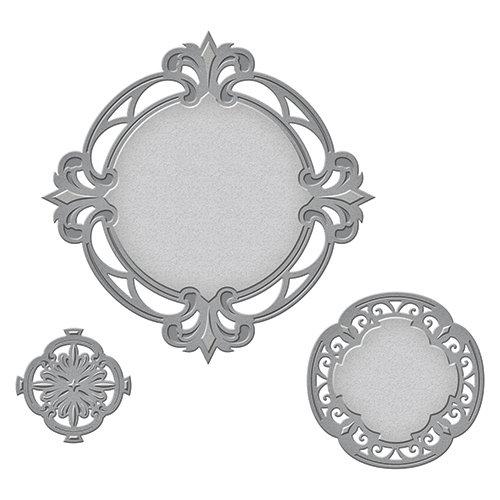 Spellbinders - Art Deco Collection - Nestabilities Die - Savoy Decorative Accent