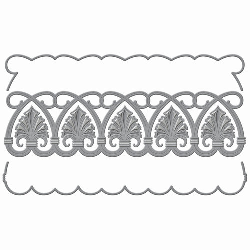 Spellbinders - Art Deco Collection - Shapeabilities Die - Shells Duality
