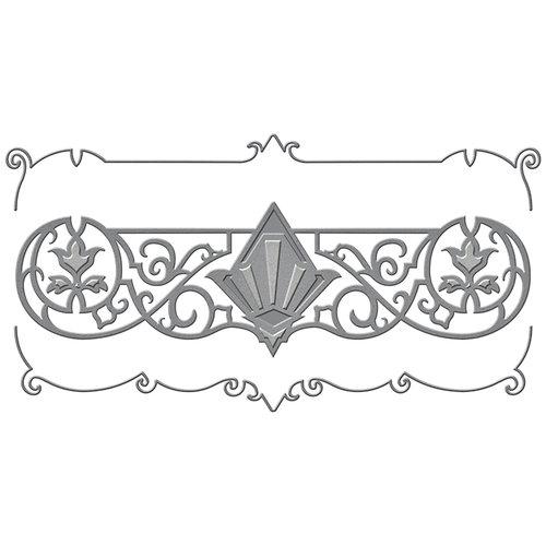 Spellbinders - Art Deco Collection - Shapeabilities Die - Deco Duality