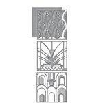 Spellbinders - Art Deco Collection - Shapeabilities Die - Divine Deco