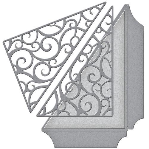 Spellbinders - Wedding Collection - Shapeabilities Die - Filigree Side Pocket