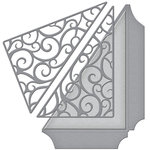 Spellbinders - Wedding Collection - Shapeabilities Die - Filigree Side Pocket