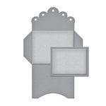Spellbinders - Tammy Tutterow Collection - Shapeabilities Die - Deco Edge Envelope