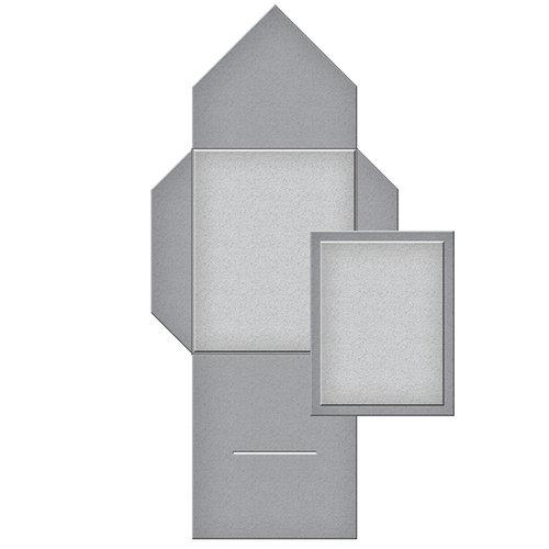Spellbinders - Tammy Tutterow Collection - Shapeabilities Die - Tabbed Mini Pocket