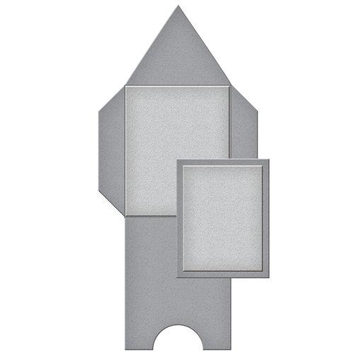 Spellbinders - Tammy Tutterow Collection - Shapeabilities Die - Pointed Mini Envelope
