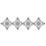 Spellbinders - Renaissance Collection - Shapeabilities Die - Renaissance Border Two
