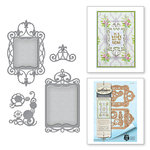 Spellbinders - Botanical Bliss Collection - Shapeabilities Die - Twisted Floral Tags