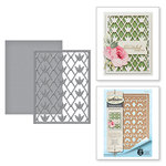 Spellbinders - Botanical Bliss Collection - Card Creator - Die - Floral Trellis