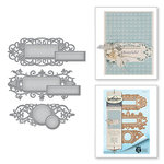 Spellbinders - Shapeabilities Collection - Die - Jubilee Tags