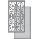 Spellbinders - Wedding Collection - Shapeabilities Die - Swirl Stripe Panel