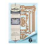 Spellbinders - Art Nuveau Collection - Nestabilities Die - Waterlilies Decorative Element