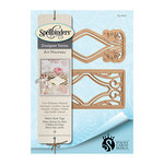 Spellbinders - Art Nuveau Collection - Shapeabilities Die - Metro Style Tags